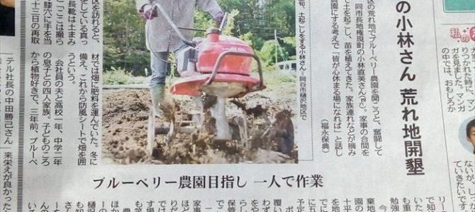 心休まる場に~中日新聞掲載~