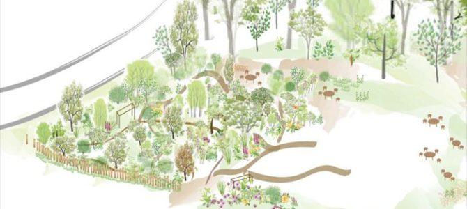 ガーデンのレイアウト