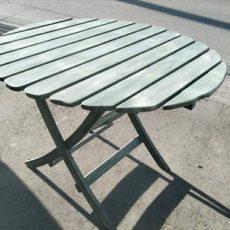 DIY-ガーデン丸テーブル 1×4でリメイクしてみました