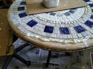DIYタイルテーブル